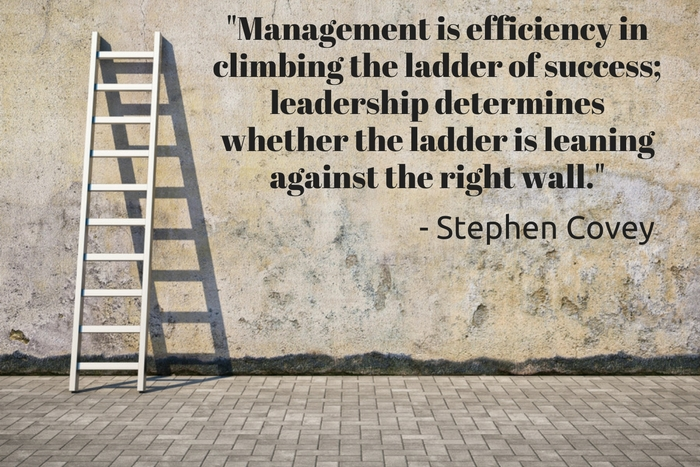 Leadership Without Good Management Is Like A Boneless